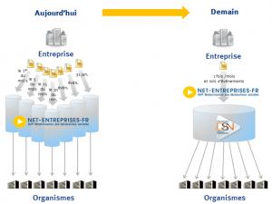 schéma de simplification de la DSN
